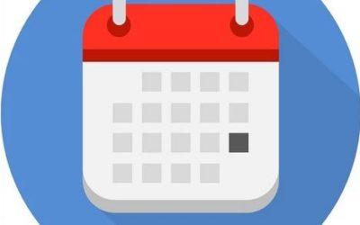 Calendário 2020 JCB!